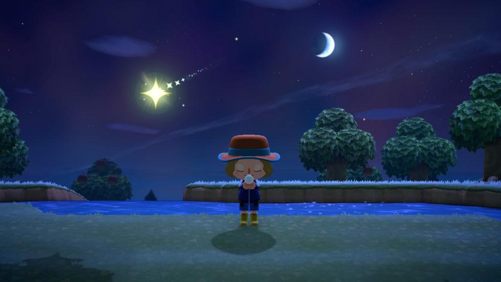 あつまれどうぶつの森 フーコ 流れ星 出ない